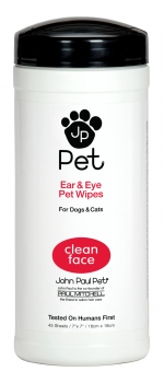 John Paul Pet Ear & Eye Wipes,  45 Tücher